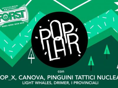 """28.09 Albere – Tutti a """"PopLar"""", il primo festival universitario di Trento"""