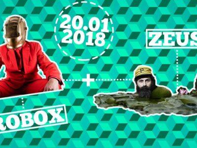 20.01 – ZEUS! + ROBOX live at Smart Lab