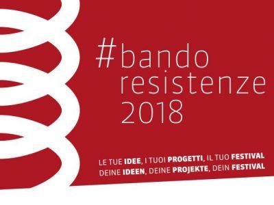 Aperta fino al 31.05 la raccolta di idee per il Festival delle Resistenze di Trento