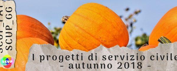 Nuovi progetti di servizio civile provinciale. Scadenza 31 ottobre.