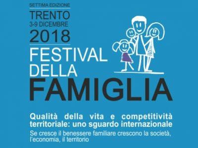 Festival della famiglia. Al via la 7a edizione.