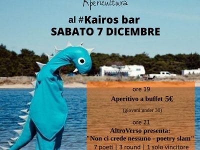 Apericultura: Poetry Slam #Kairos Bar